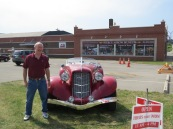 Fred at Pierce Arrow Museum