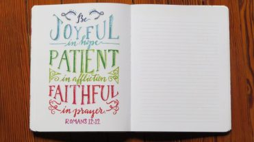 Faith and Lettering