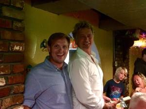 Michael Warren and John Schneider