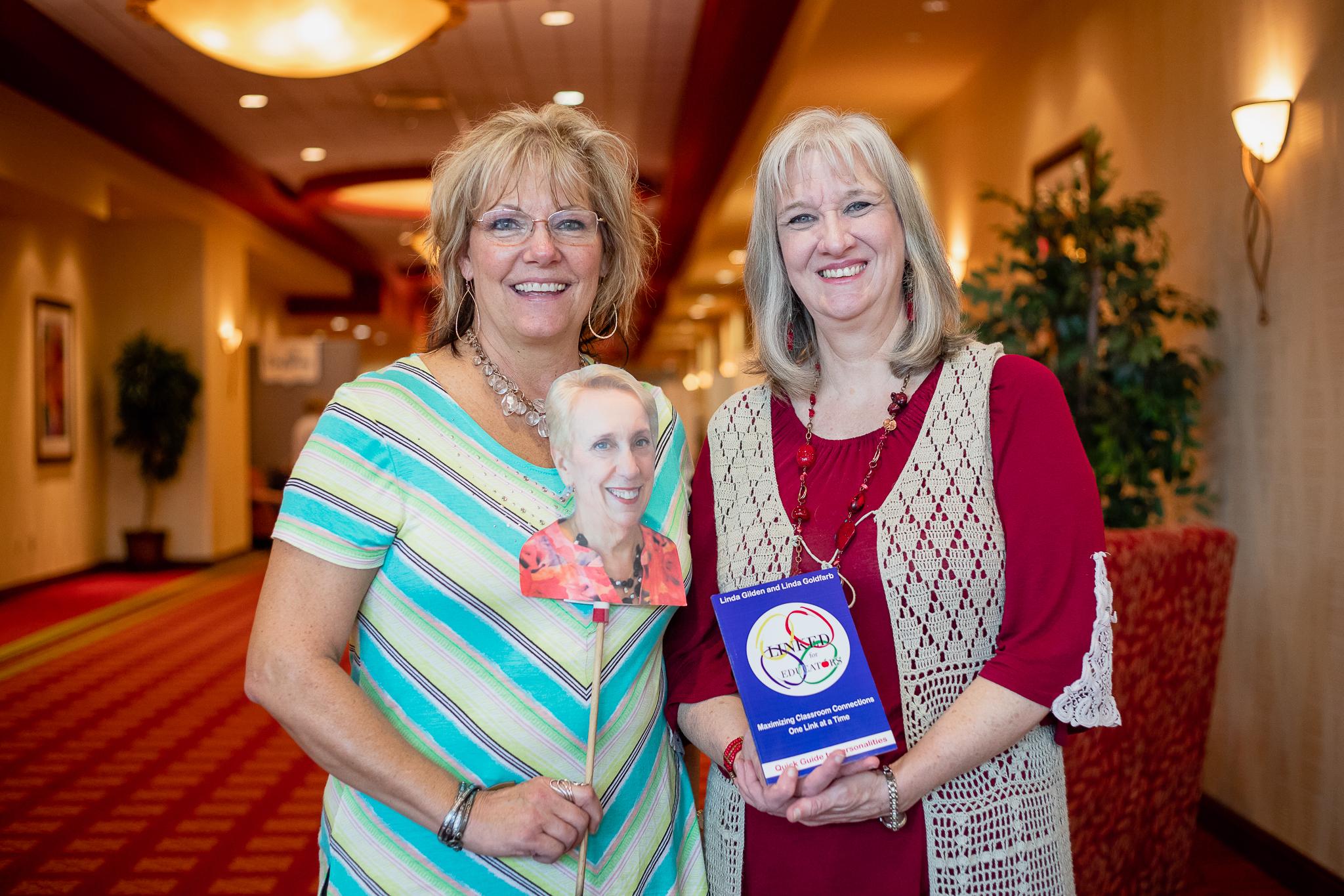 Sharon Wilharm interviews author Linda Goldfarb at CPE 2019