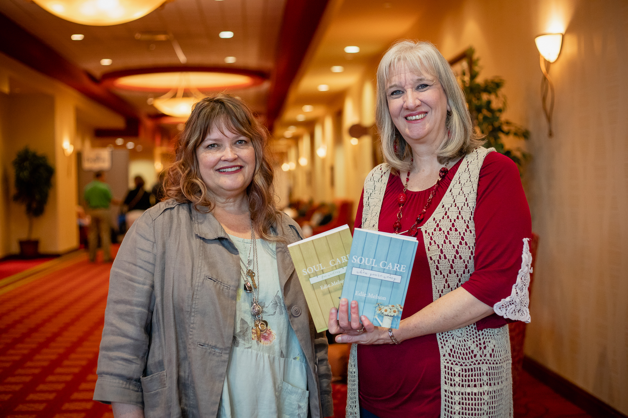 Sharon Wilharm and Edie Melson at CPE 2019