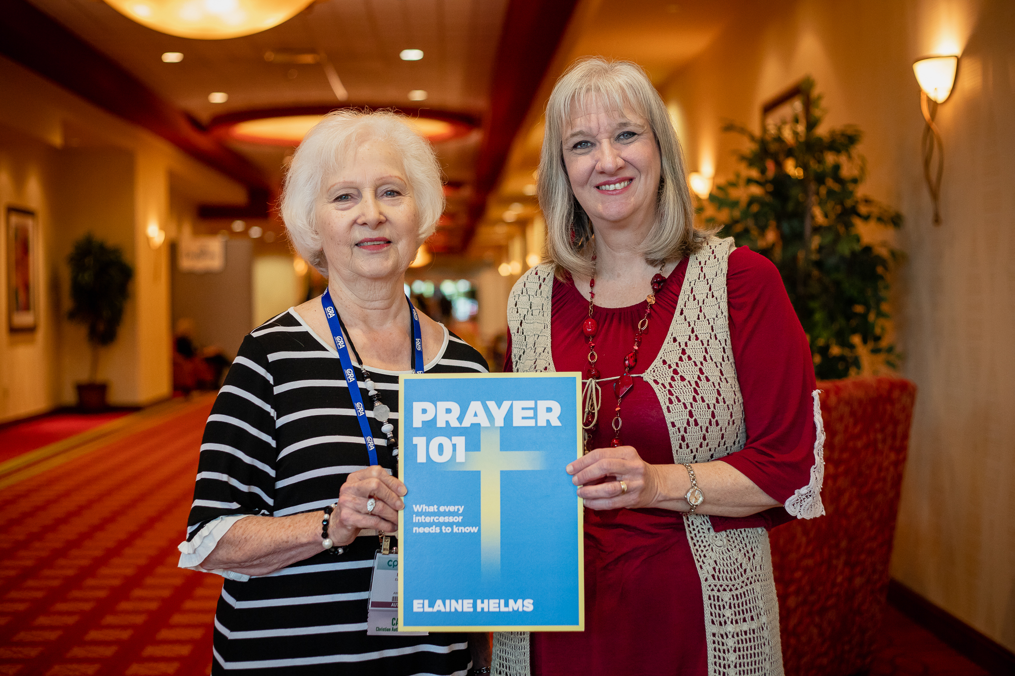 Elaine Helms and Sharon Wilharm at CPE 2019