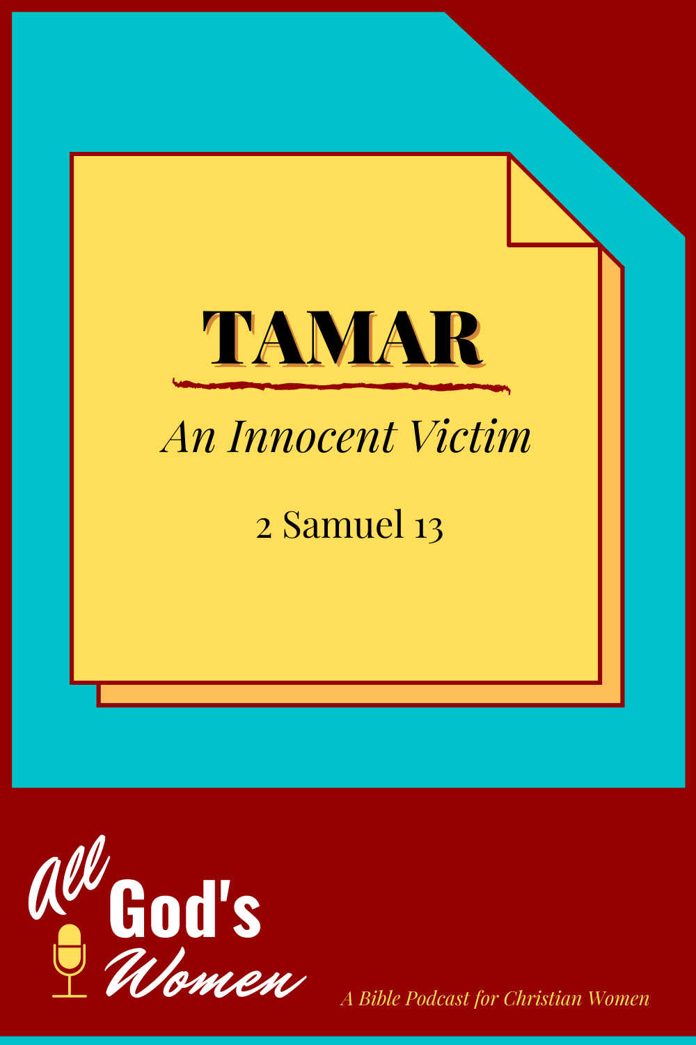 Tamar - An Innocent Victim