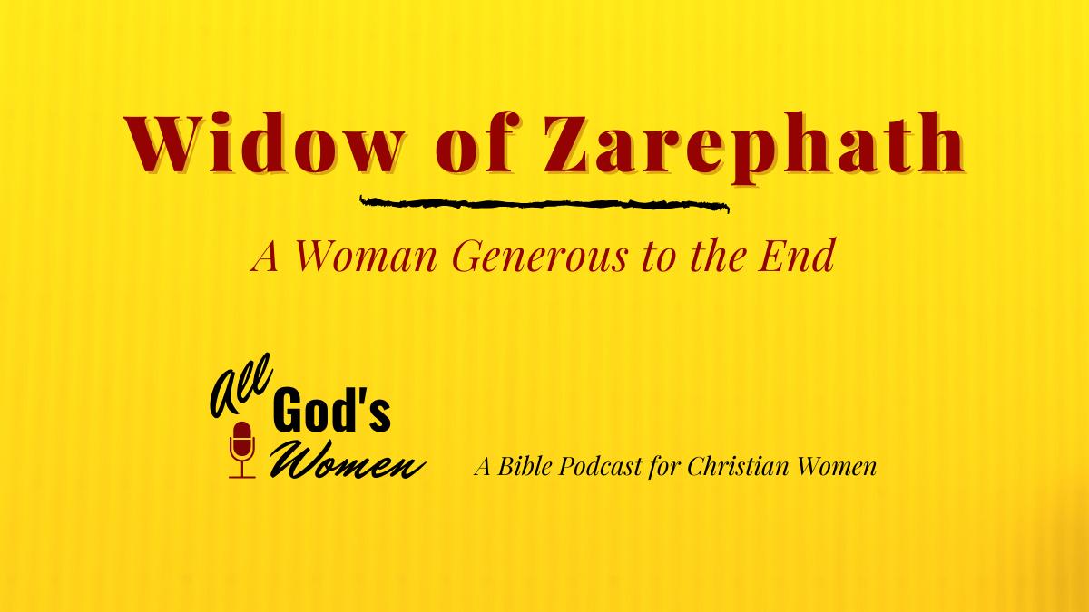 Widow of Zarephath