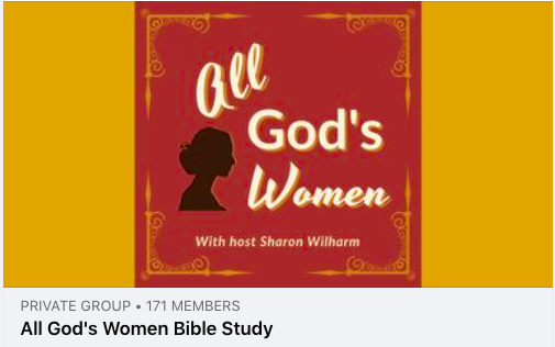 All God's Women Bible study on Facebook
