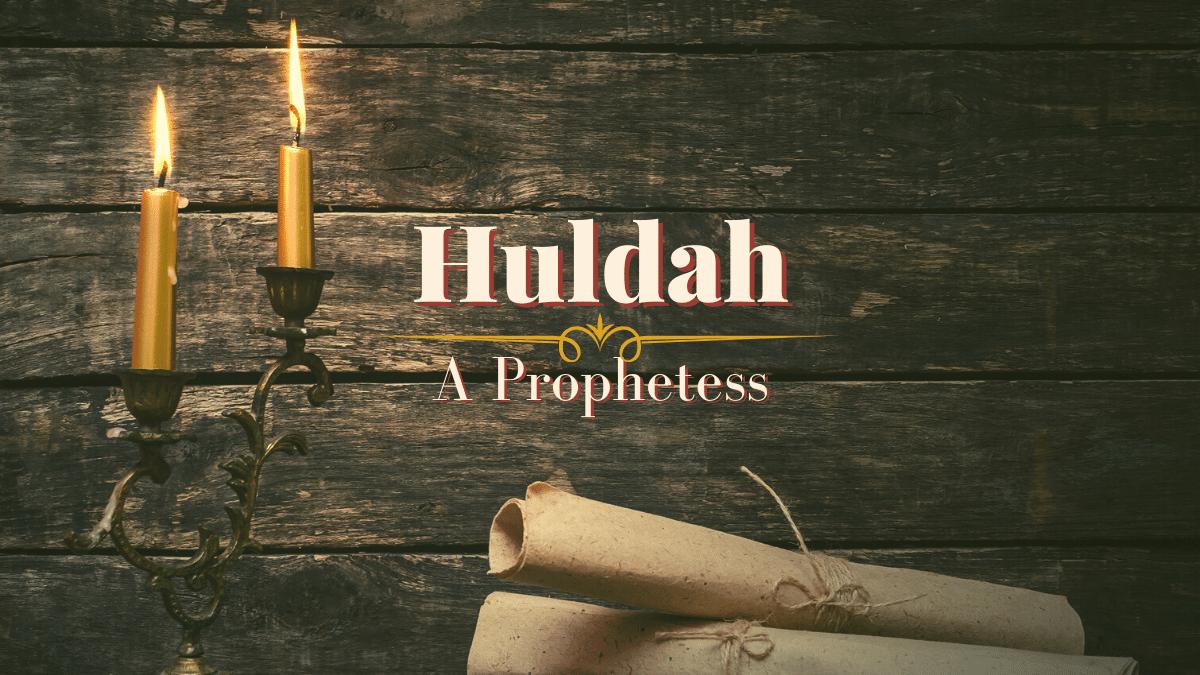 Huldah: A Prophetess | Sharon Wilharm | Female Christian Speaker