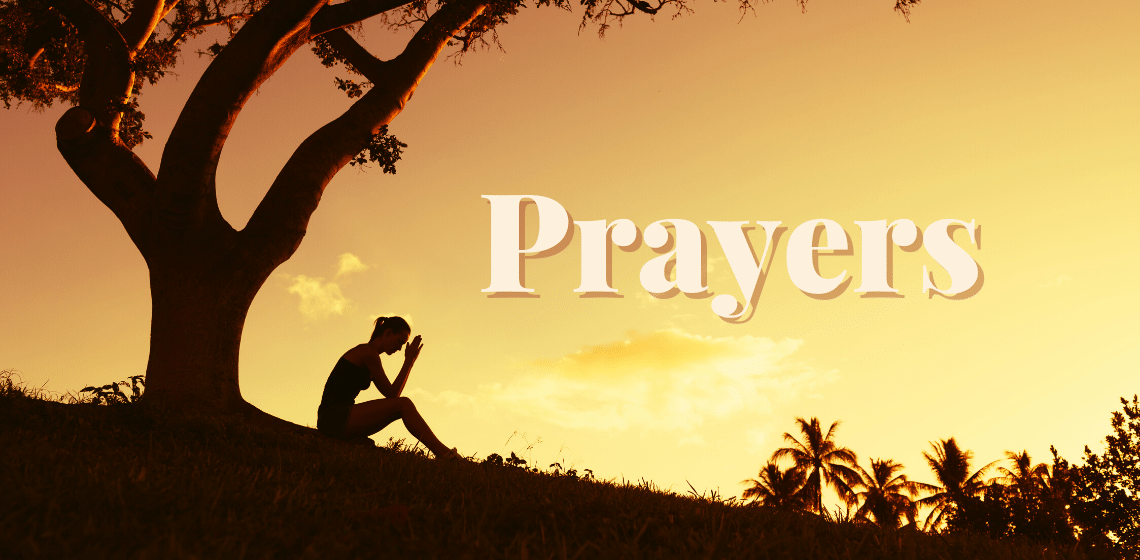 Prayers by women in the Bible