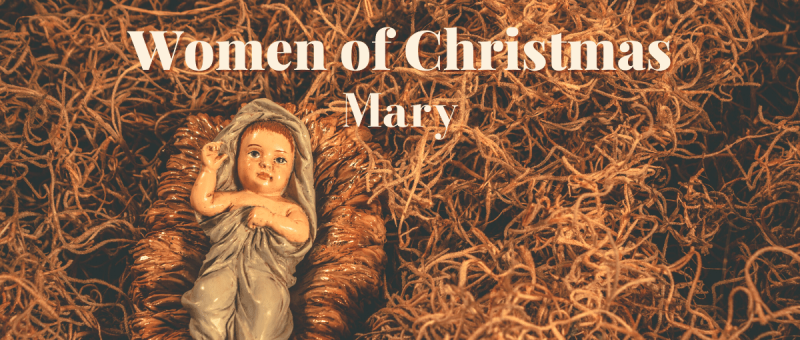 women of Christmas: Mary