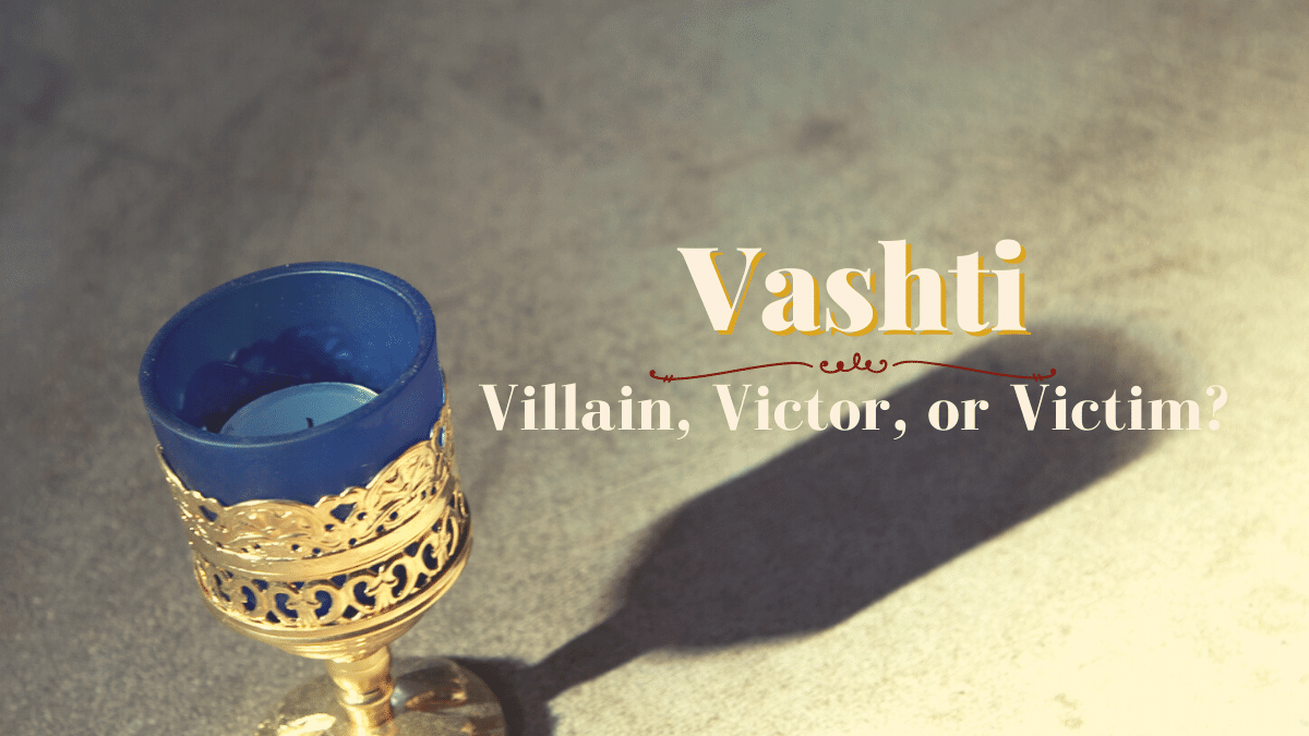 Queen Vashti podcast episode of All God's Women