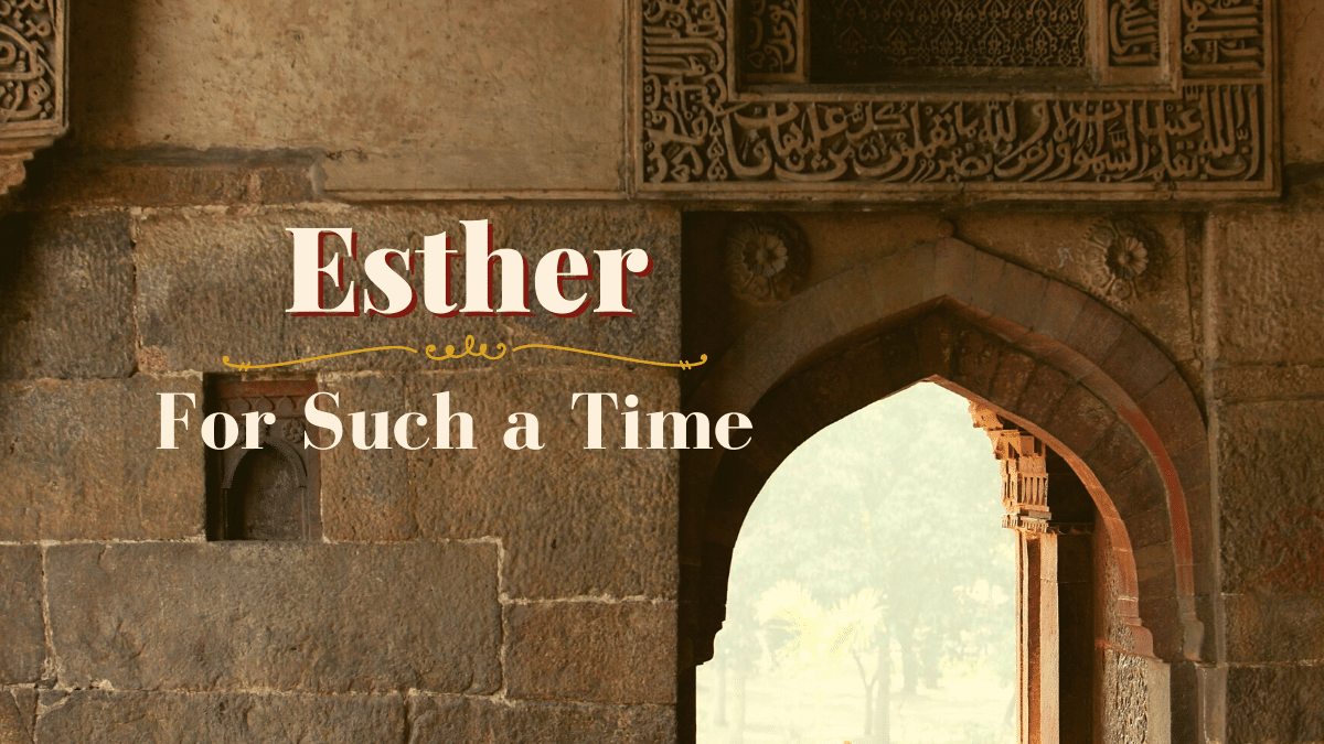 Esther podcast episode of All God's Women