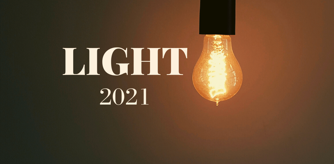 2021 word of the year - Light