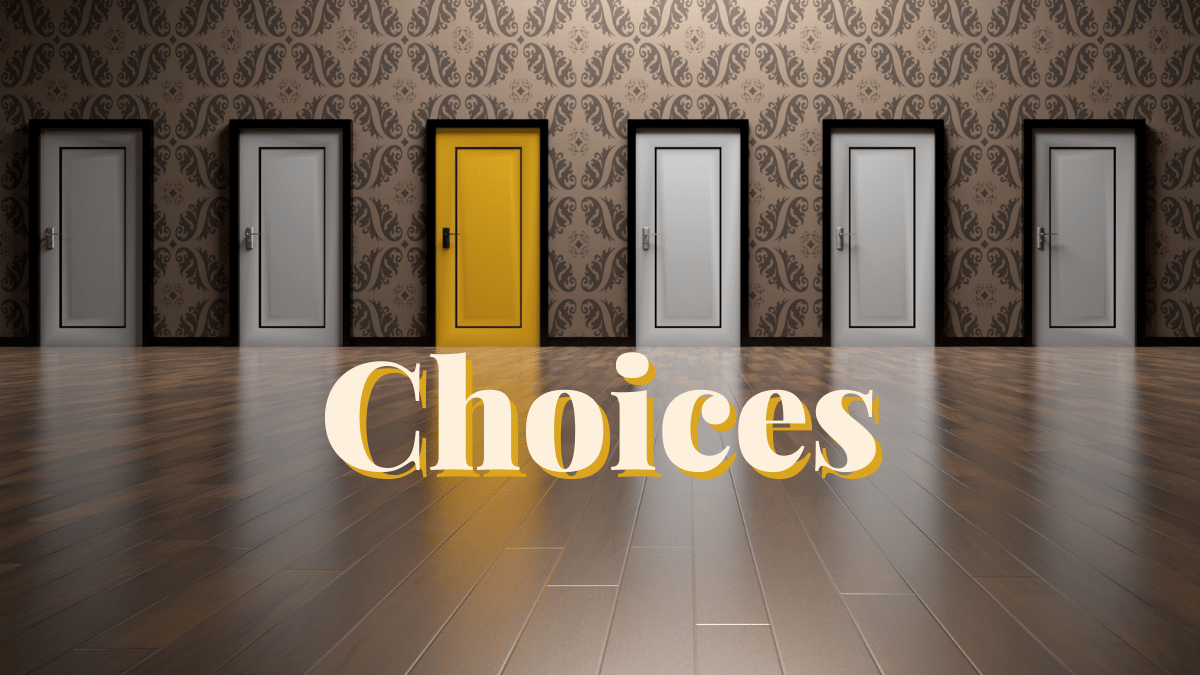 Difficult choices made by women of the Bible