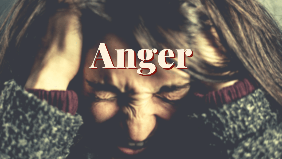Bible women who dealt with anger