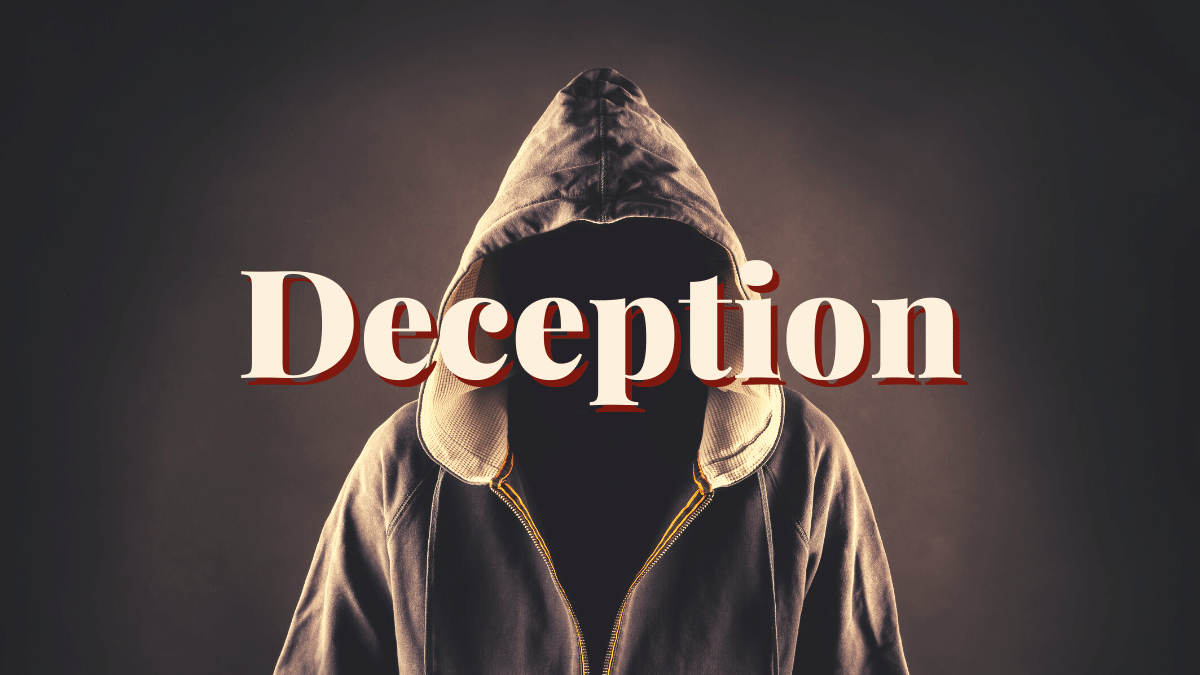 Bible women who were victims of deception