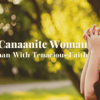 Canaanite Woman: A Tenacious Fighter