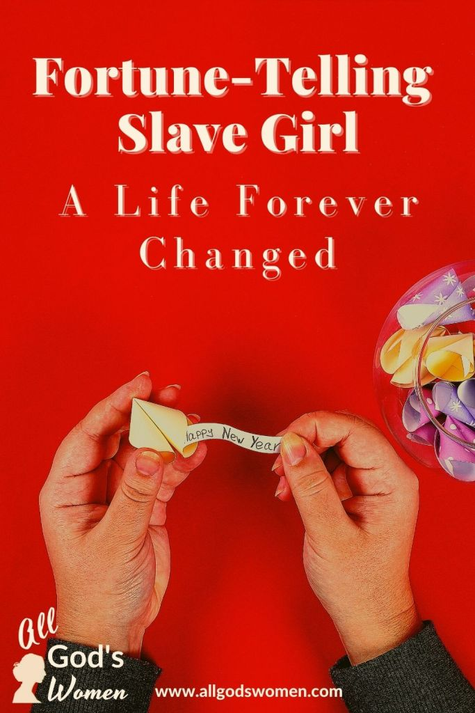 Fortune-telling slave girl; a life forever changed, All God's Women podcast
