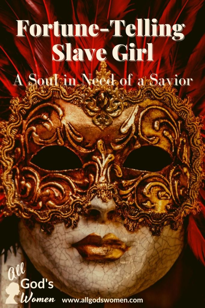 Fortune-telling slave girl; a soul in need of a Savior, All God's Women podcast